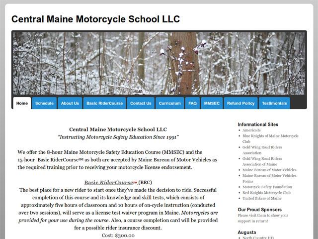 CentralMaineMotorcycleSchool.com