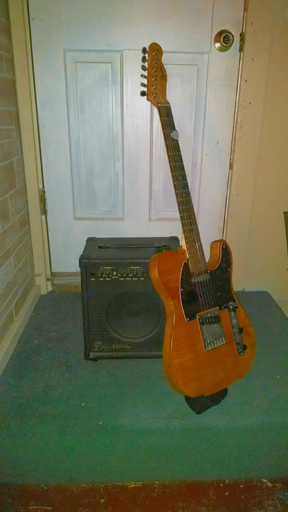 K-20X with my new telecaster